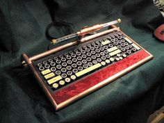 Make your own steampunk computer keyboard!