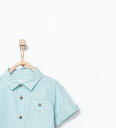 ZARA - NEW THIS WEEK - Shirt with detail on the sleeve