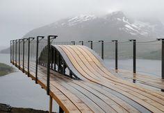 Amazing Architecture Pavilions Showcase Norway's Magnificent Landscape
