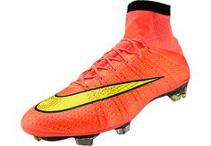 I love these cleats I have them two pairs of cleats(these were 275 bucks) Best Soccer Shoes, Soccer Boots, Football Shoes, Football Cleats, Messi Soccer, Ronaldo Soccer, Nike Soccer, Cristiano Ronaldo, Superfly Soccer Cleats