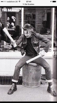 rat scabies from the damned British Punk, Punks Not Dead, You Rock, Candy Store, Green Day, Pistols, The Good Old Days, Rockers, No One Loves Me