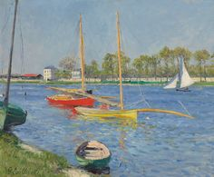 Gustave Caillebotte (1848~1894) http://fineartamerica.com/featured/the-seine-at-argenteuil-gustave-caillebotte.html