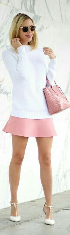 Sweater and Skirt from Zara / Kier Couture