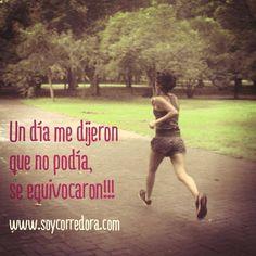 Soy #runner y puedo con todo!! #runningInspo