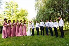 Bride Groom Sunset City trash the dress love husband wife ourlife bridesmaids wedding