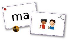 Flashcards de syllabes avec gestes Borel Maisonny