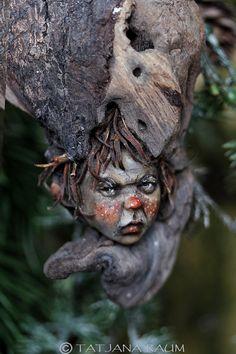 One of a kind Wooden spirit Frudo Tatjana Raum by chopoli on Etsy