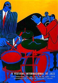 San Sebastian's Jazz Festival 1970