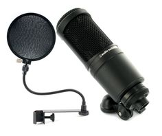 Audio-Technica AT2020 Popkiller Set #Thomann