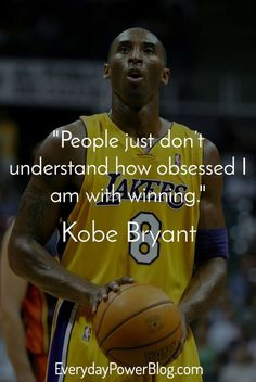 30 Kobe Bryant Quotes On Being Successful | Nba, Joueurs de
