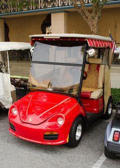 Porsche Golf Cart~
