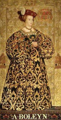 Anne Boleyn m. 1533 - 1536 Executed