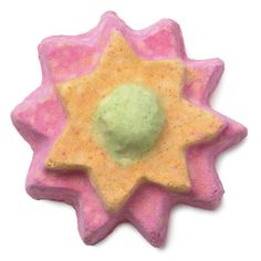 Floating Flower Bath Bomb - this sensual jasmine delight is sure to please.