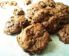 Double Chocolate-Ginger Cookies - Quirky Cooking