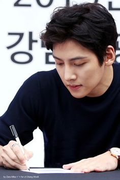 Event fan sign _JCW Exhibition_ in Hallyu Experience Centre at Gangnam Tourist Information Centre 2015
