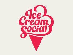 Visual Graphic   Ice Cream Social