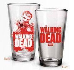 Walking Dead Pint Glass | Zombie Eating Arm