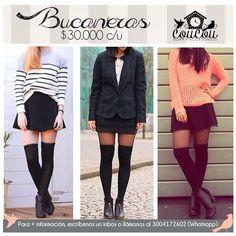 Volvieron las #Bucaneras! No aprietan no transparentan no marcan la pierna.  Disponibles para compra inmediata. Estamos en #Cúcuta y realizamos envíos a toda #colombia  Para  info: llámanos al 3004172602 (whatsapp)  #coucouisrosy #instamoda #cucuta #goodmorning #buenosdias #instafashion #kneesocks #bogota #manizales #barranquilla #bucaramanga #medellin #ibague #neiva #cali