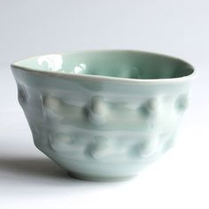 Frances Palmer No. One Celadon Fingerprint Bowl