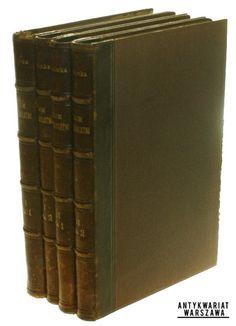 Sejm czteroletni t. I-II Kalinka Waleryan (w 4 vol.)(1895)