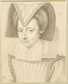 """""""Diane de Vivonne de La Chataigneraie"""" by Daniel Dumoustier (1624)"""