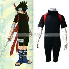 Naruto Shippuden Sasuke Men's Cosplay Costume, Naruto Cosplay Costumes, Cosplay Costumes