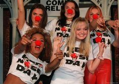 Spice up your life! Go to rednoseday.org to find out how you can help a child in need. The Spice Girls helped out, and so can you. | Red Nose Day USA