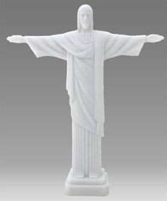115 Inch Resin in Marble Finish Christ the Redeemer Sculpture White ** Read more reviews of the product by visiting the link on the image.