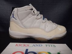 new styles 466fe 4d2a9 DS 2000 Nike Air Jordan XI 11 Retro COLUMBIA 9 RIGHT SHOE ONLY 136046  Ampute OG