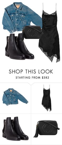 """""""Untitled #155"""" by stoutjami on Polyvore featuring Balenciaga, Alexander Wang, 3.1 Phillip Lim and Gucci"""