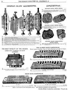 German blow accordions