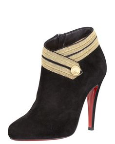 Christian Louboutin Marychal Suede Bootie......