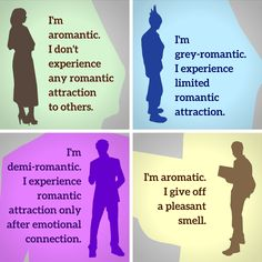 There's a difference between aromantic and aromatic LOL