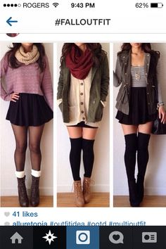 Fall outfitsss ❤️