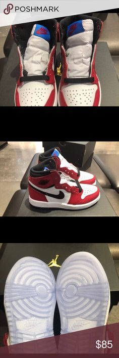 00a1b37e70ca Nike Jordan 1 origin story toddler shoes New in box for toddler size 10 is  limited