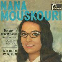 Nana Mouskouri - Luxembourg - Place 8 (single cover german version)