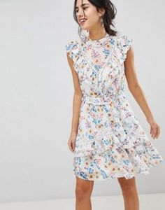 af7dd69bde6b0 AS SEEN ON ME | Street Style | ASOS. High Neck Lace DressLace Midi DressFloral  Maxi DressForever New ...