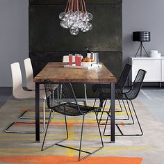 reed zinc chair in dining chairs, barstools | CB2 149