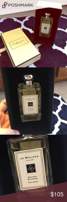 Jo Malone Orange Blossom with box given as a gift but i dont like the smell. it smells so floral. sprayed once. jo malone Other