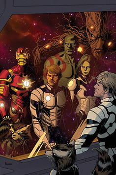 Guardians of the Galaxy by  Paolo Rivera