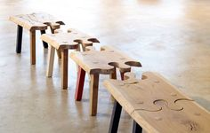 Puzzle Bench by Pierre Cronje, South Africa.