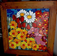 Resultado de imagen para Mosaic dog by Solange Piffer Mosaic Wall Art, Tile Art, Mosaic Glass, Mosaic Tiles, Glass Art, Mosaic Crafts, Mosaic Projects, Stained Glass Patterns, Mosaic Patterns