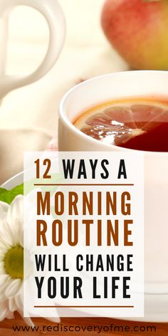 12 Ways a Morning Routine will Change Your Life! Find out how a good routine before work or school with help you live a healthy and fulfilling life. Morning routines are perfect for teens, kids, adult Healthy Morning Routine, Morning Habits, Morning Routines, Daily Routines, Evening Routine, Night Routine, Sunday Routine, Healthy Habits, Healthy Life