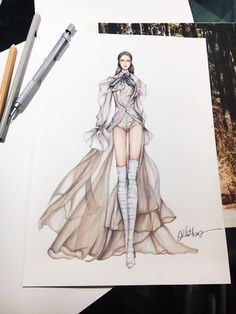 Galia lahav #sketch #sketching #draw #drawing #fashion #fashionsketch #fashiondrawing #fashionillustrator #fashionillustration #fashionart #art #artwork #instaart #illustrator #eristran