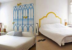 """Como decorar um quarto de casal moderno no estilo """"faça você mesmo"""""""