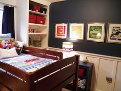 Our son will be 4 this year, and it was time to create a big boy room… :: Hometalk