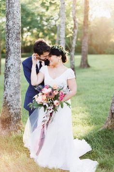 Garden inspired Texas wedding: Liberty + Stephen
