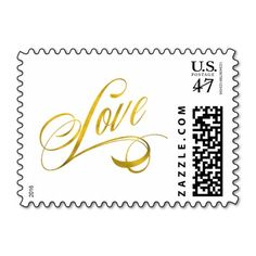 Love Quote Gold Faux Foil Quotes Metallic Wedding