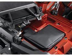Sportsman 550 & 850 Front Pouch Bag - Black by Polaris 2876615 Atv Attachments, Atv Accessories, Atv Parts, Pouch Bag, Bag Storage, Oem, Honda, Bags, Handbags
