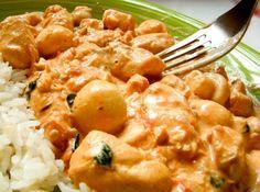 Strogonoff de frango com requeij�o - Veja mais em: http://www.cybercook.com.br/receita-de-strogonoff-de-frango-com-requeijao.html?codigo=16035